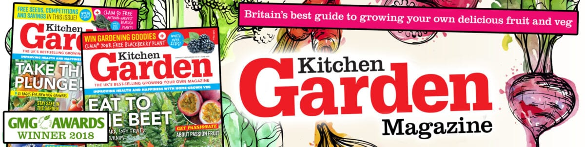 Kitchen Garden Magazine Header & Logo