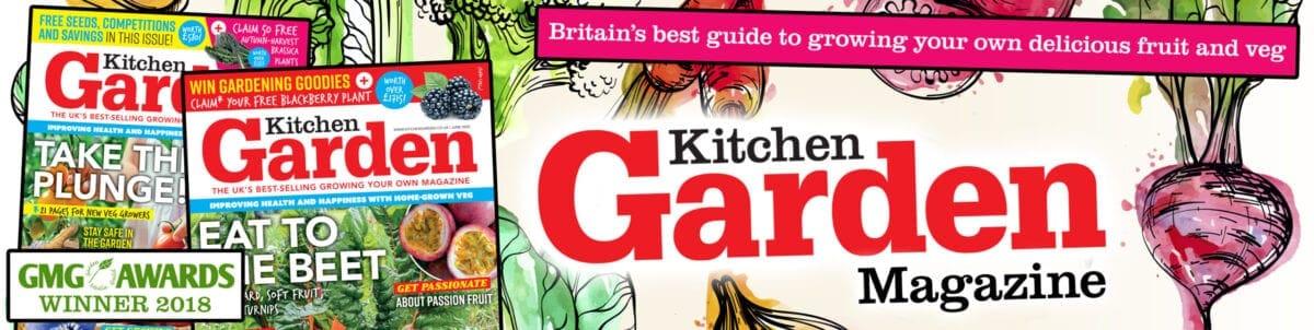 Kitchen Garden Magazine Header & Logo