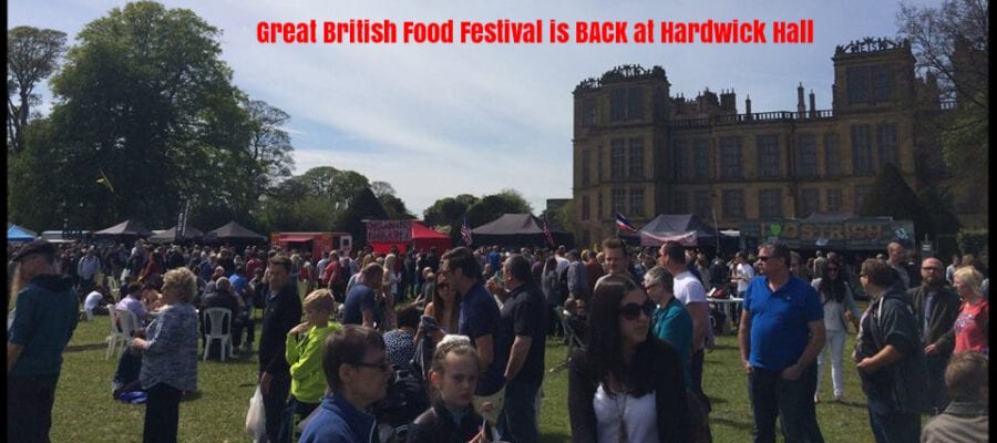 Food Festival back at Hardwick Hall