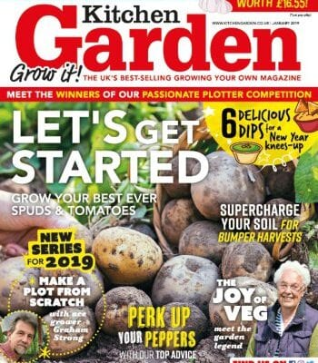 January 2019 Kitchen Garden... out now!