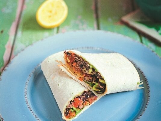 CHILLI BEAN BURRITOS