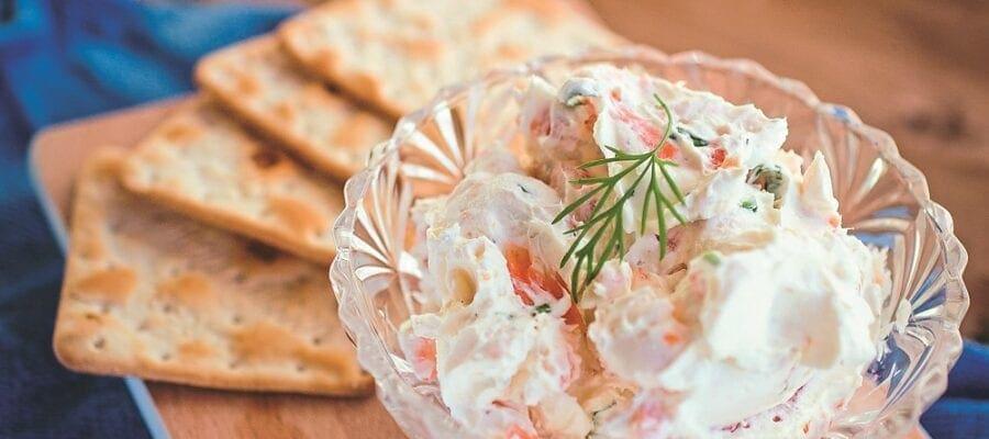 Horseradish & Smoked Salmon Spread
