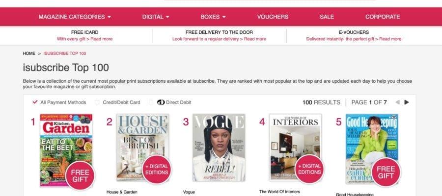Kitchen Garden magazine is a number one hit!