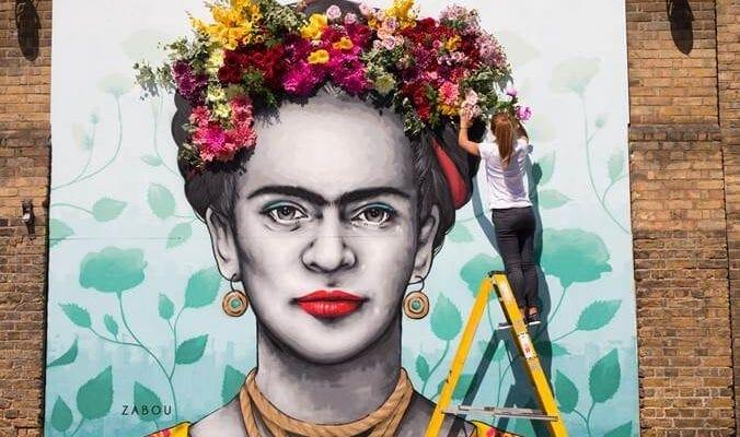 Frida blooms in Belgravia
