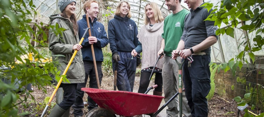 Restoration hots up at Stanmer Park
