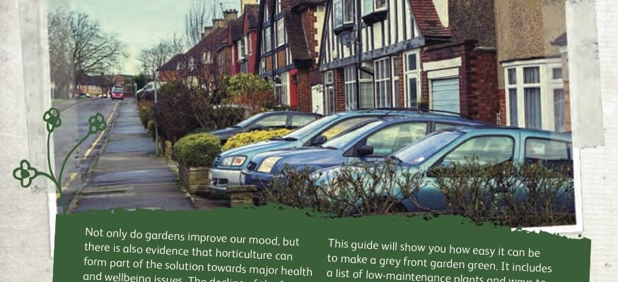 Only 10% think front gardens are for plants