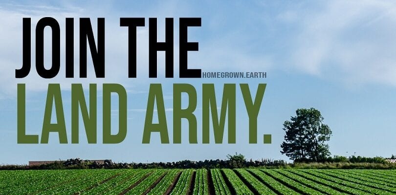 OUR FARMS NEED YOU! JOIN THE LAND ARMY, FEED THE NATION