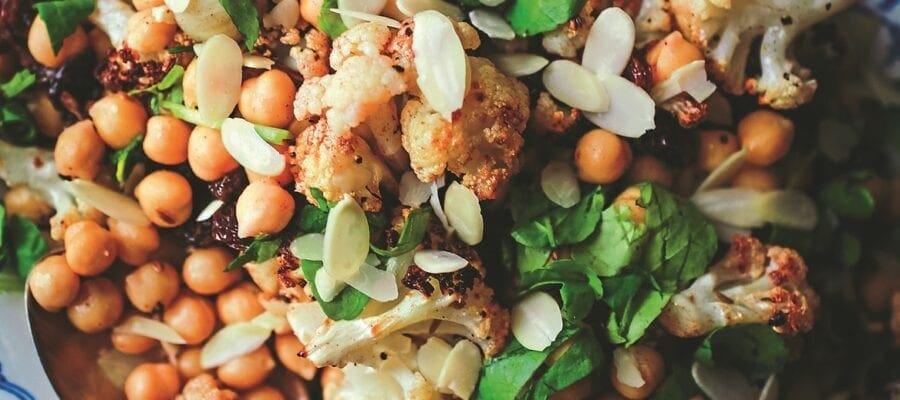 Aromatic Cauliflower & Chickpea Salad