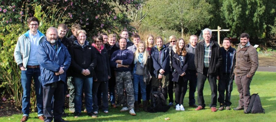Sparsholt College launches garden for RHS Chelsea Flower Show 2016