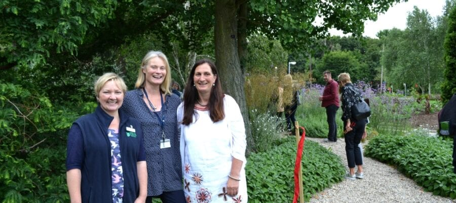 Granddaughter of Beth Chatto opens new garden at Writtle University College