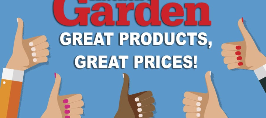 Kitchen Garden: Great products, great prices!