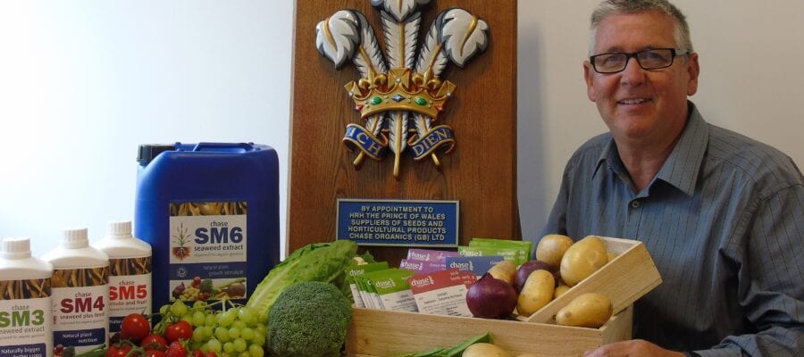 Chase Organics granted Royal Warrant