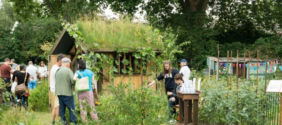 Open day for London's oldest plots