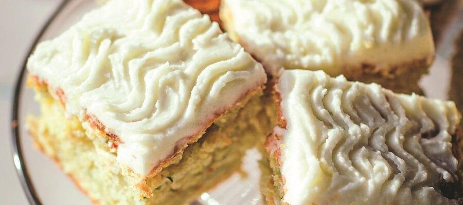 Courgette & Lemon Cake
