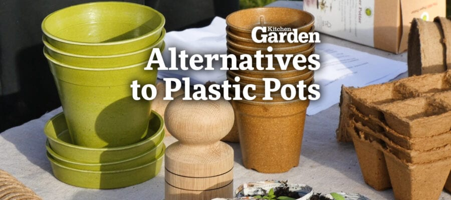 Video:Clever Alternatives to Plastic Pots