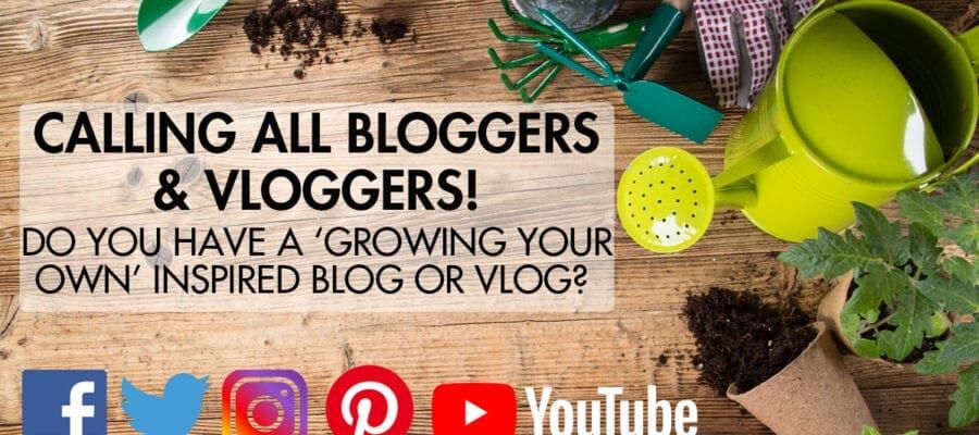 Fancy blogging/vlogging for Kitchen Garden?