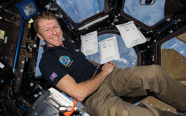 Astronaut Sends Message of Support to Pupils