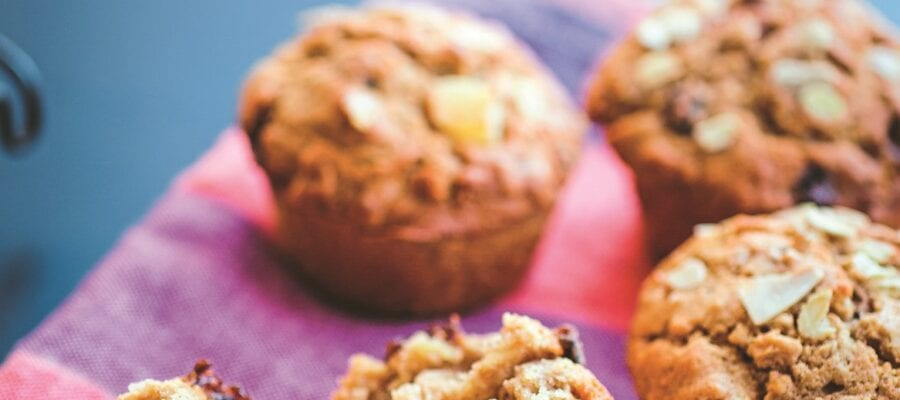 Pear Muesli Muffins