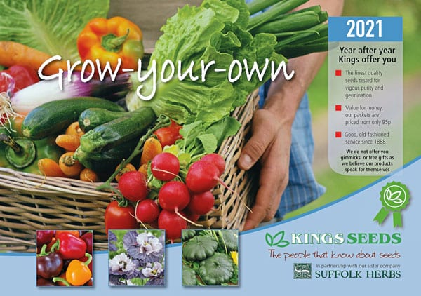 King's Seeds catalogue cover