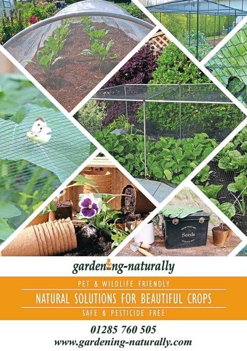 Gardening Naturally catalogue cover
